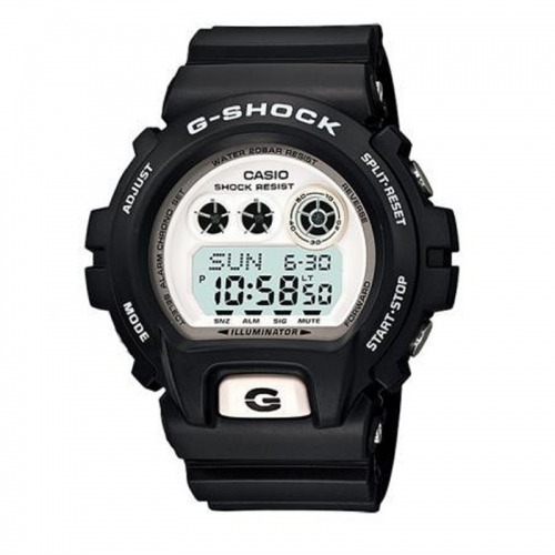 Casio G-Shock XL Men's Black Alarm Chronograph Watch GD-X6900-7ER