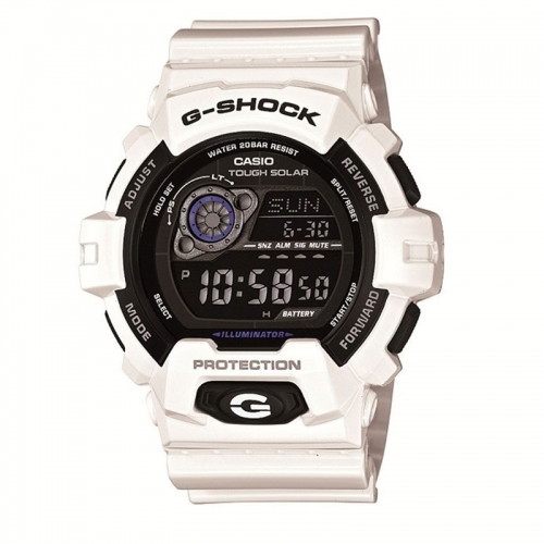 Casio G-Shock Men's White Alarm Chronograph Watch GR-8900A-7ER