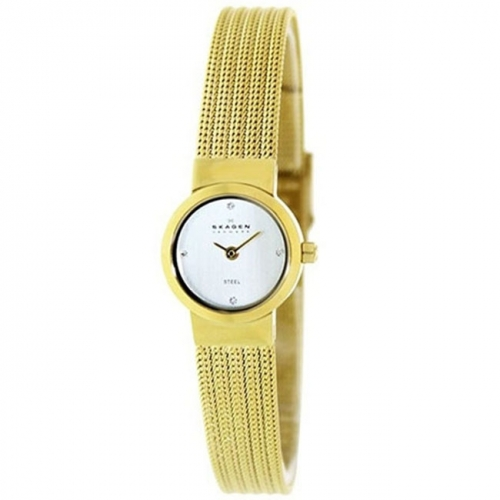 Skagen Classic Ladies Gold Watch SKW2009