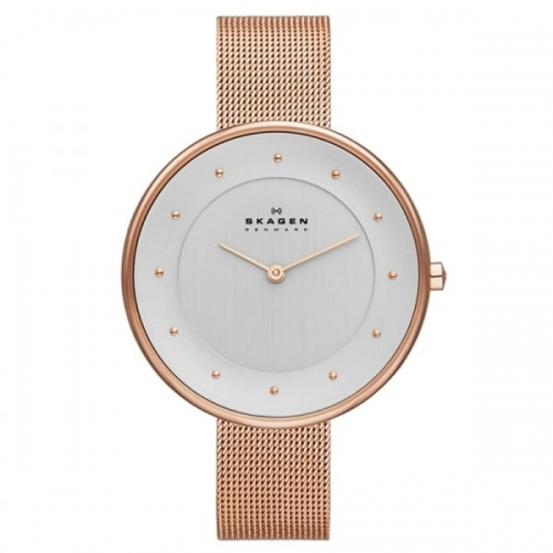 Skagen Gitte Lades Rose Gold Watch SKW2142