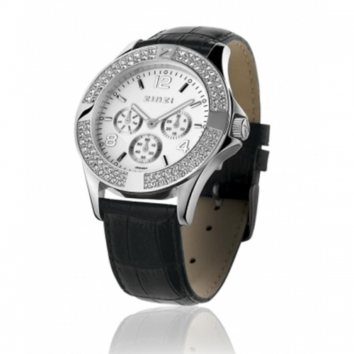 Zinzi Ladies' White Chronograph Watch