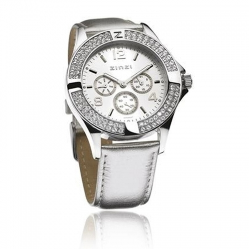 Zinzi Ladies' Silver Chronograph Watch
