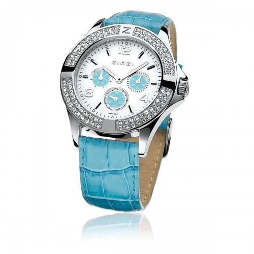 Zinzi Ladies' Turquoise Chronograph Watch