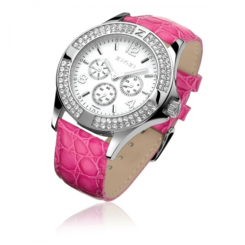 Zinzi Ladies' Fuchsia Chronograph Watch