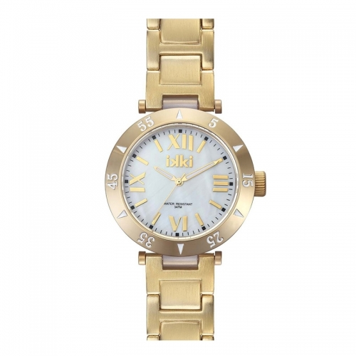Ikki Gold Bracelet Watch
