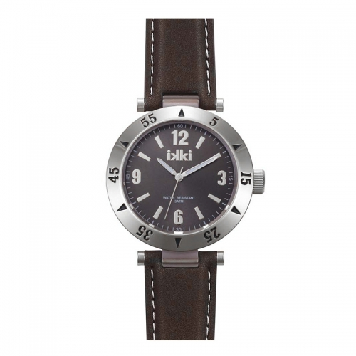 Ikki All Brown Leather Strap Watch