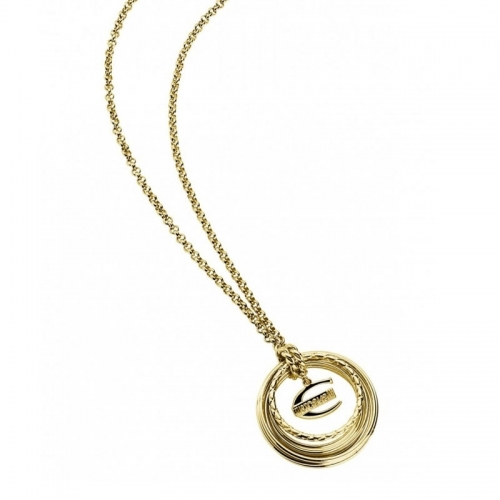 Just Cavalli Infinity Gold Necklace SCHX08