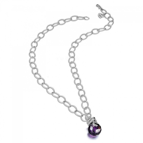 Just Cavalli Boule Steel Necklace