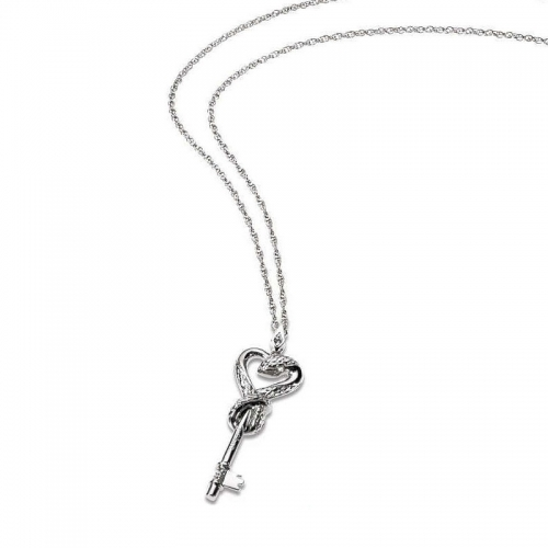 Just Cavalli Secret Snake Key Necklace