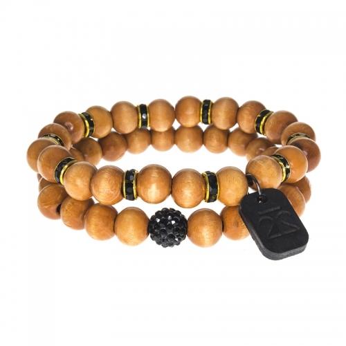 Tag Twenty Two Bamboo Shamballa Bracelet