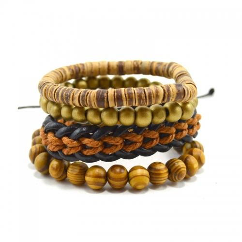 Tag Twenty Two Brown Variety Bracelet Set