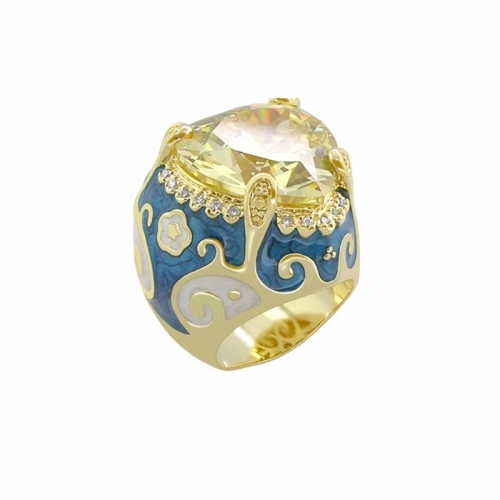 Lauren G Adams Daphne Swirl and Heart Ring
