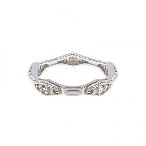 Lauren G Adams Silver Ornate Ring