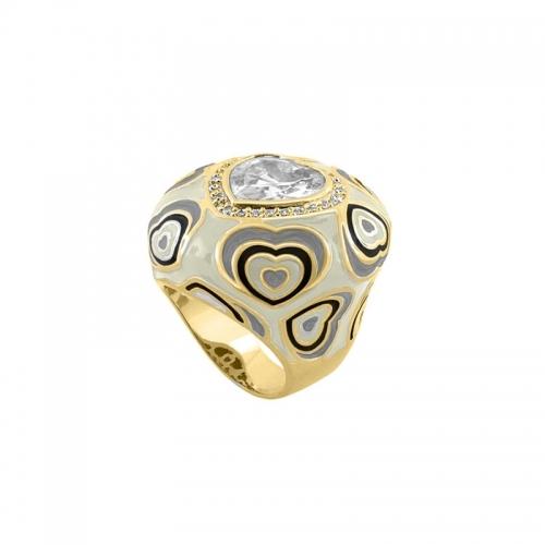 Lauren G Adams Heart Cocktail Ring