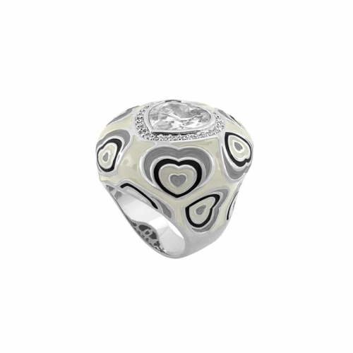 Lauren G Adams Heart Cocktail Ring