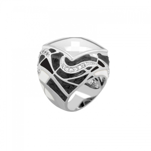 Lauren G Adams Swirl Cocktail Ring