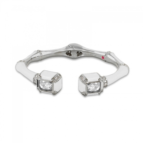Lauren G Adams White Bamboo Bangle