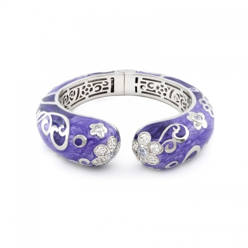 Lauren G Adams Daisy Swirl Bangle