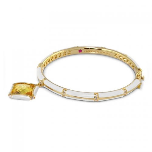 Lauren G Adams White Stackable Bangle