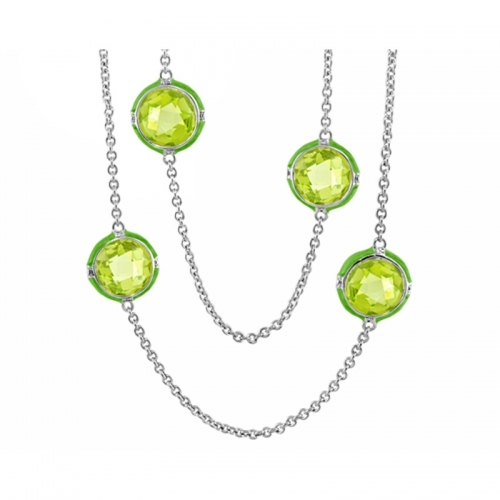 Lauren G Adams Green Prince Charming Necklace