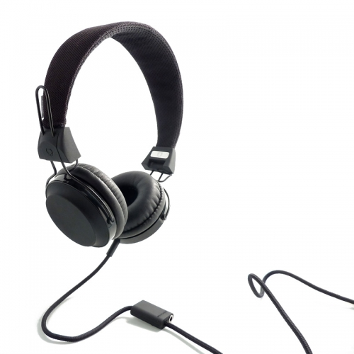 Wize and Ope Classic Black Headphones - HPHO-2