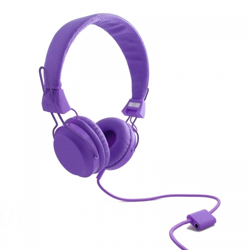 Wize and Ope Classic Purple Headphones - HPHO-4