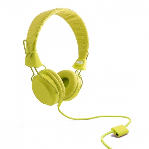 Wize and Ope Classic Yellow Headphones - HPHO-23
