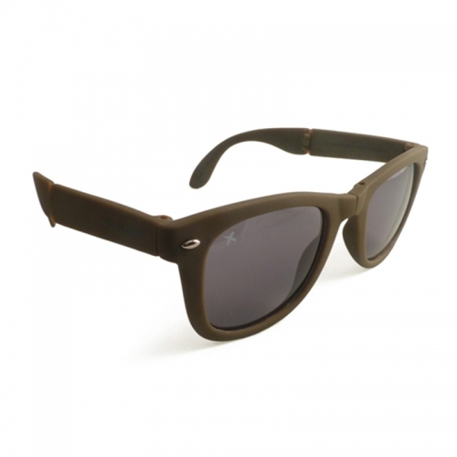 Wize and Ope Khaki Folding Sunglasses - SUN-19