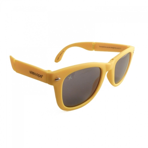 Wize and Ope Yellow Folding Sunglasses - SUN-23