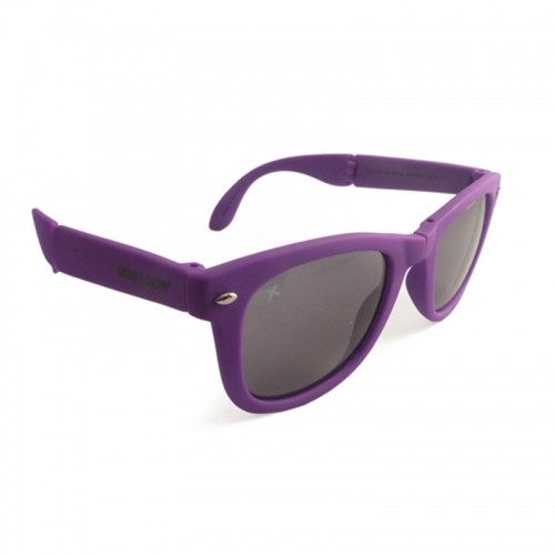 Wize and Ope Purple Folding Sunglasses - SUN-4