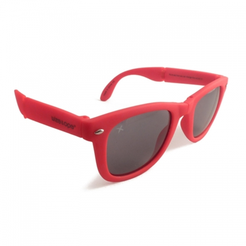 Wize and Ope Red Folding Sunglasses - SUN-3