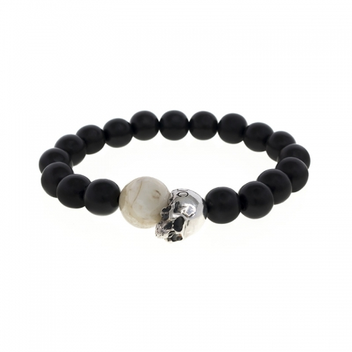 ADD Republic Memento Mori Wood Bracelet