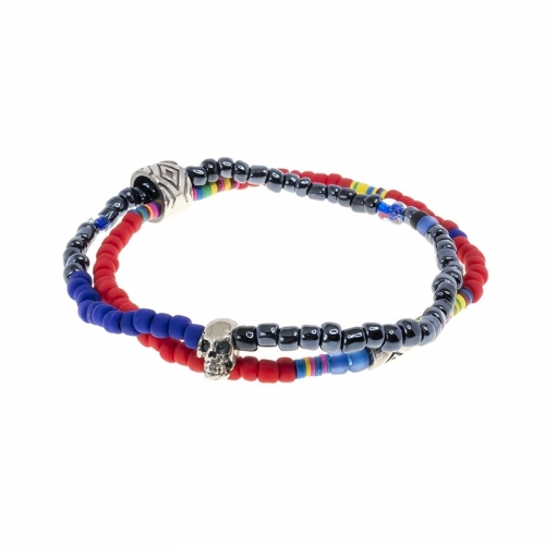 ADD Republic Limited Mini Evolution Red and Purple Bracelet