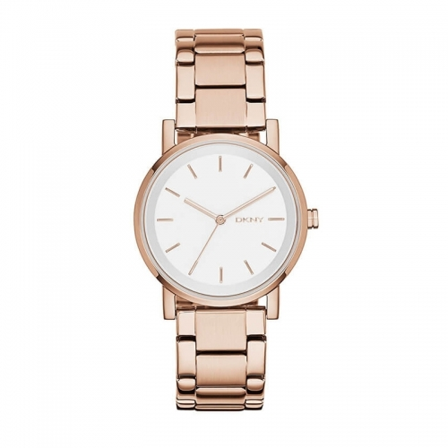 DKNY Rose Gold Soho Watch
