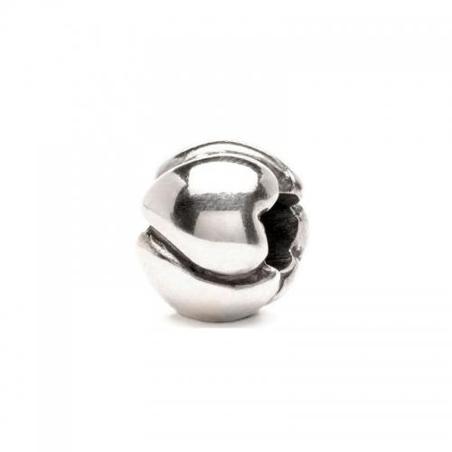 Trollbeads Big Hearts Silver Bead 11224