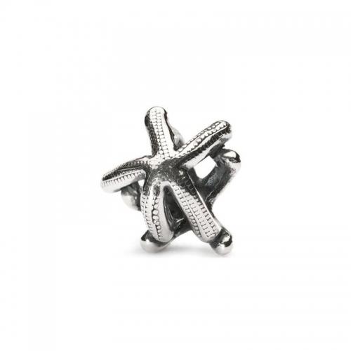 Trollbeads Starfish Silver Bead 11286