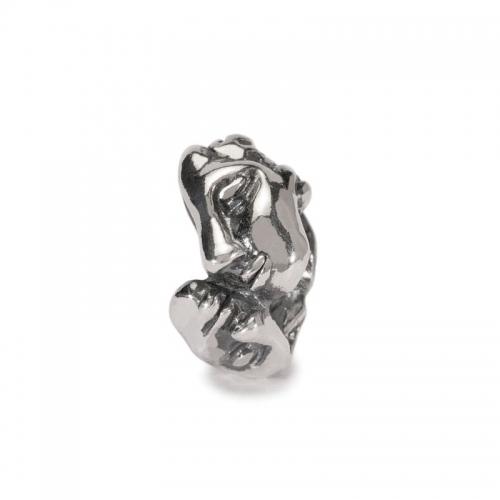 Trollbeads Kiss Silver Bead 11271