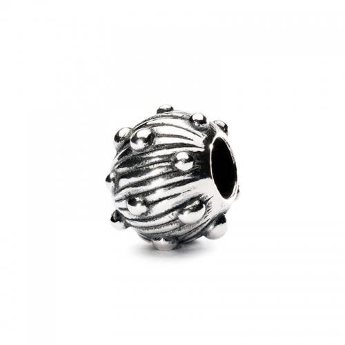 Trollbeads Sea Urchin Silver Bead 11287