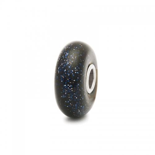 Trollbeads Blue Goldstone Silver & Glass Charm 62024