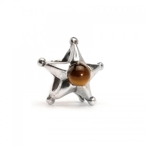 Trollbeads Gemini Star Silver Bead 51727