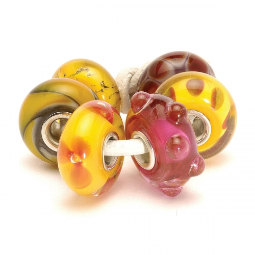 Trollbeads Orange - Red Kit 63011 (RETIRED)