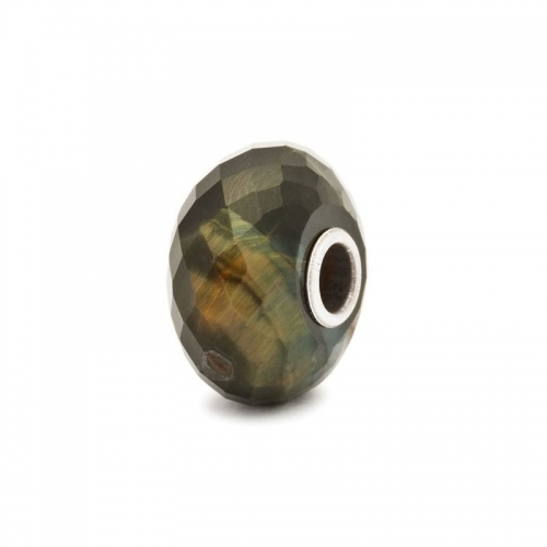 Trollbeads Blue Tiger's Eye Bead 80110
