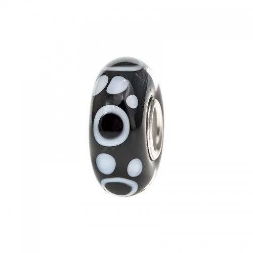 Trollbeads Black & White Empowerment Bead 64XXX-1-3