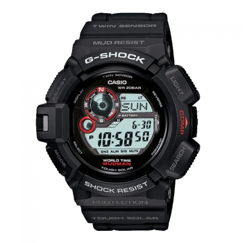 Casio Casio G-Shock Mudman Men's Black Alarm Chronograph Watch G-9300-1ER