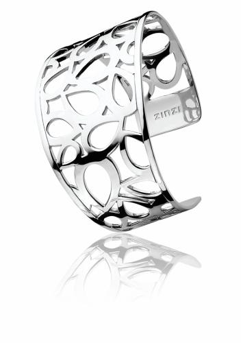 Zinzi Sterling Silver Openwork Cuff Bracelet ZIA652