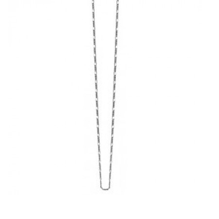Zinzi Sterling Silver Figaro 45cm Necklace ZI45FIG