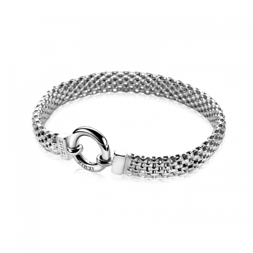Zinzi Silver Link Bracelet Zia880