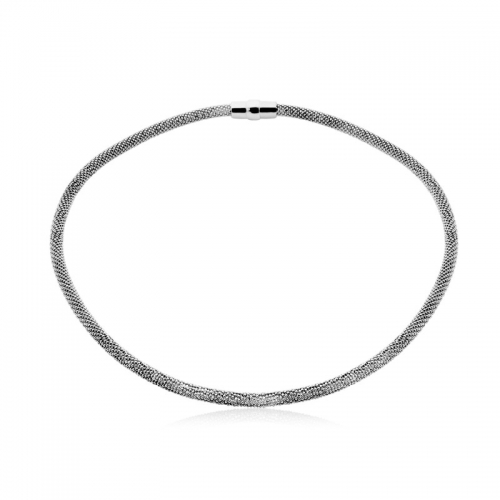 Zinzi Silver 43cm Necklace with Magnetic Clasp ZIC681Z