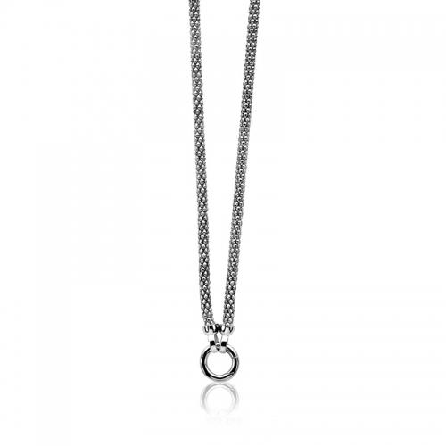 Zinzi silver chain necklace 45cm ZIC733