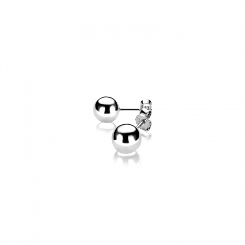Zinzi Silver 8mm Stud Earrings ZIO716